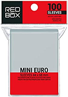Sleeve – MINI EURO (44x68mm) – Redbox
