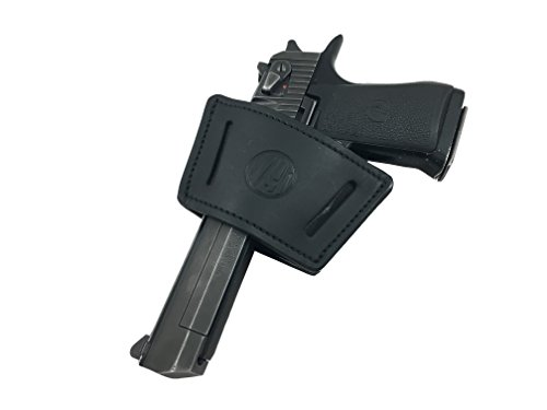 1791 Universal Large Leather Gun Holster, OWB / IWB CCW Holster, Right and Left Handed - Fits HK VP9, SIG P226, P229, P220 Walther PPQ, PPK, SW MP40, Beretta 92FS, Springfield XDS, Ruger SR9c, SP101
