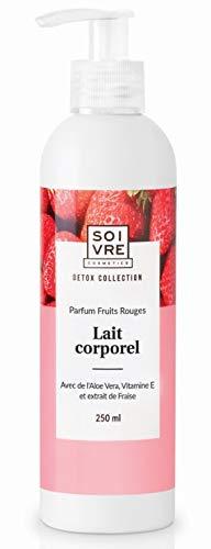 Laits corporels hydratants - Collection detox (Fruits rouges)