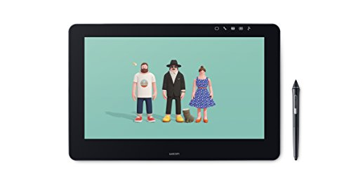 WACOM DTH-1620-UK Cintiq Pro 16 FHD Tablet-PC (Intel Core i5, GB Festplatte, 8GB RAM, Iris Graphics 550HD, 39,62 cm (15,6 Zoll)) schwarz