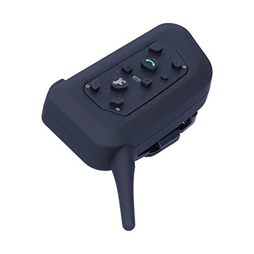Aramox VNETPHONE V6 apto para intercomunicador de casco Bluetooth para 6 pasajeros, radio bidireccional, dúplex completo, impermeable, 3937 pies, walkie talkies para motocicleta