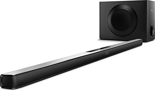 Philips HTL7140B - Soundbar con subwoofer wireless, Nero