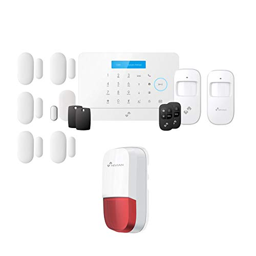 KIT ANTIFURTO CASA ALLARME WIRELESS GSM ALEXA GOOGLE HOME