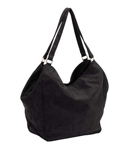 SIX Schwarze Handtasche in Beutelform (726-940)
