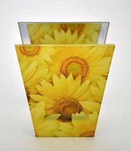 formano Windlicht Sunflower 11x13cm 884312 Sonnenblumen Dekoidee Geschenkidee Lichter