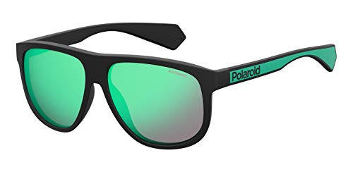 Polaroid Eyewear Pld 2080/S Occhiali da sole Uomo, Blckgreen 58