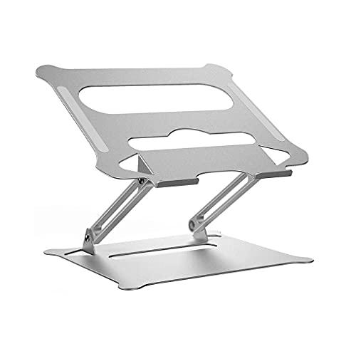MRYZZ Soporte portátil Ajustable Aluminio para MacBook Computer PC iPad Tablet Tablet Support Notebook Soporte de enfriamiento Cojín de enfriamiento Portátil Base (Color : 1)