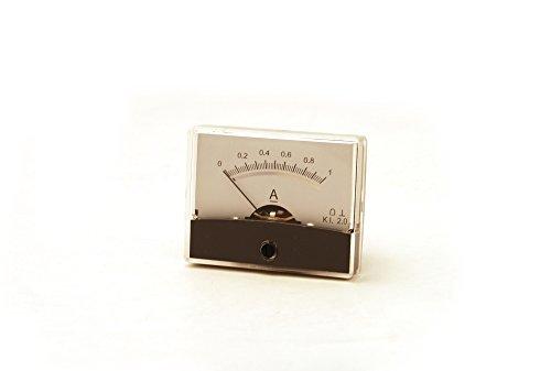 Preisvergleich Produktbild Drehspul Einbauinstrument No60 Amperemeter bis 1A Panel