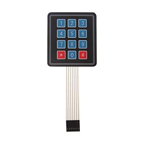Amazon.es - 3x4 Matrix Keypad Membrane Switch For Arduino 12 Keys
