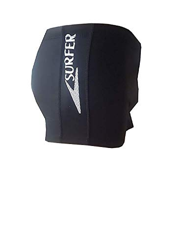 Inception Pro Infinite - Badeanzug - Herren Boxershorts - Shorts - Schwarze Farbe mit Surfer Schrift - Bademode - Erwachsene - Strand - Schwimmbad - Größe XXL - Geburtstagsgeschenkidee