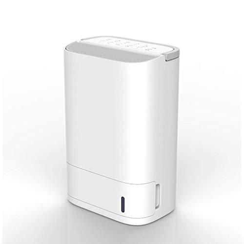 GGRYX 25L Deshumidificador, Silencioso Bajo Consumo Deshumidificador Electrico, para Habitaciones como El Hogar, El Garaje Deshumidificador Aire, Deshumidificador Purificador Aire,White