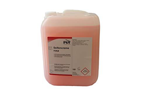 Seife - ROSA - Cremeseife Seifencreme Flüssigseife 10 Liter Kanister (1 x 10 Liter)