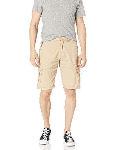 Ecko UNLTD Herren Gripper Ripstop Cargo Shorts - Beige - 46