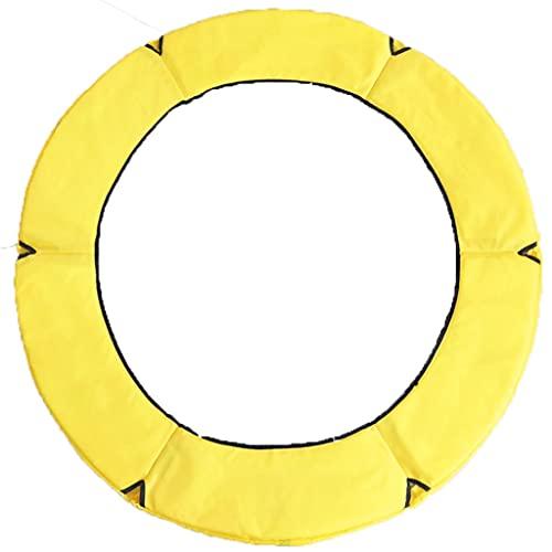 LVLUOKJ 1,2/1,4/1,5 m Cubierta de Seguridad de Resorte de trampolín Almohadilla Protectora de Seguridad de Repuesto PVC Impermeable Cubierta de Salto de Rebote de Gimnasio (Color : C, Size : 1.5m)