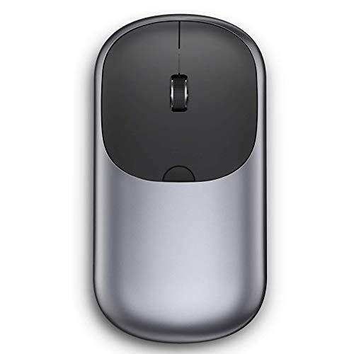 VOGEK Kabellose Bluetooth Maus, Bluetooth 4.0 & 2.4G Dual Modus Schnurlos Optische Funkmaus Computermaus Wiederaufladbar Maus DPI 1000/1600/2400 Einstellbar für Laptop, PC, Tablet, Handy, Computer