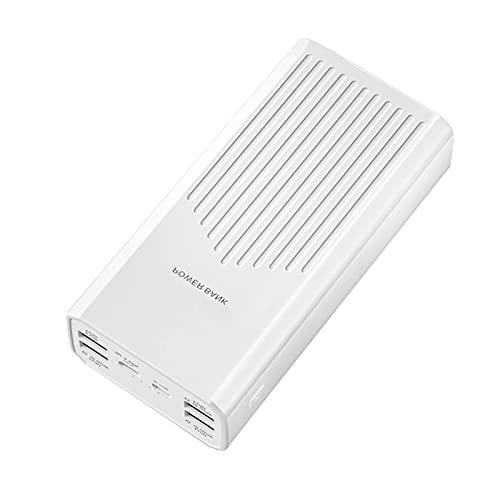 DNGDD Power Bank, [40000mAh] Cargador portátil Paquete de baterías, Power Pack de Alta Capacidad PD20W/18W USB C Cargador de teléfono Powerbank de Carga rápida con 5 Salidas 2 entradas para telé