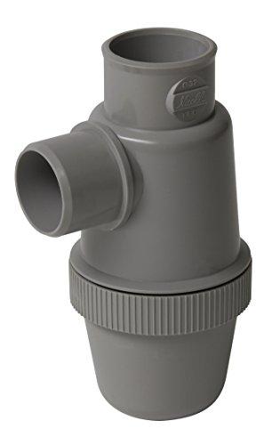 Nicoll 71640 sifon voor wastafel, groen, D32 YFCC, grijs