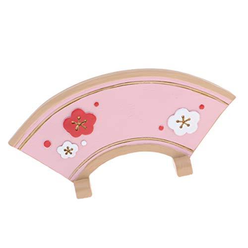 Sharplace Estilo Japón Biombo Accesorios de Sala de Estar Miniatura DIYpara 1/12 Casa de Muñecas