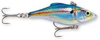Rapala Rattlin' Rapala 08 Fishing lure, 3.125-Inch, Holographic Blue Shad