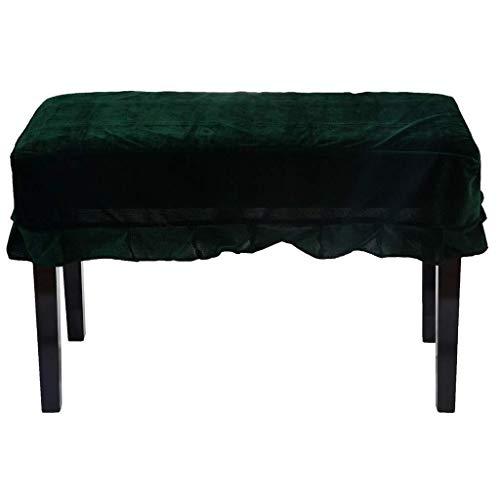 LXCS Terciopelo del Oro a Prueba de Polvo de heces Cubierta del Taburete del Piano Conjunto Taburete del Piano Conjunto Plisado Cubierta de la Silla del sofá, Muebles de Guardapolvos