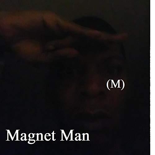Surobayuusaku Vintage Fashionable Men Magnet Magnetic Ear Stud Non Piercing Clip Earrings