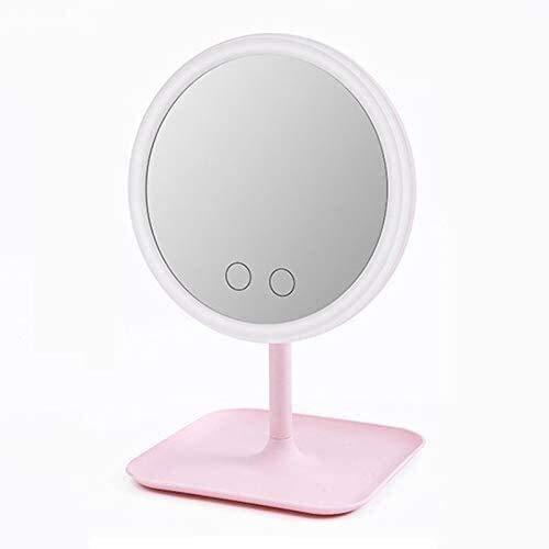 Espejo de vanidad con luz, LED Maquillaje para Mujer Desmontable Maquillaje