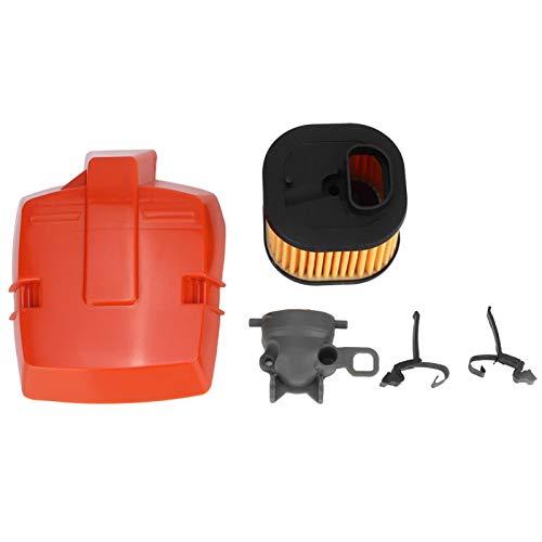 Emoshayoga Piezas de Motosierra de Soporte de Filtro de Aire HD de Material ABS de Buena Resistencia para Mejorar el Rendimiento de la Motosierra Husqvarna 362365371372 372XP