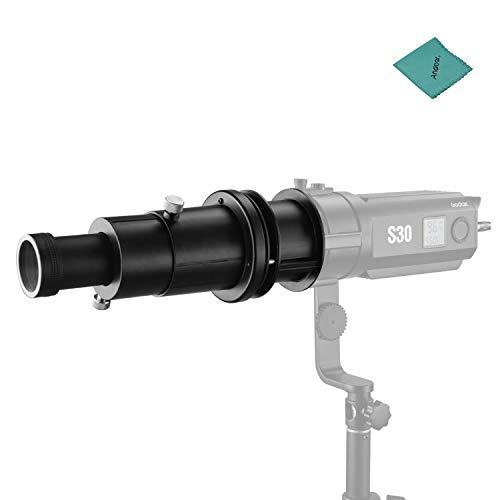 Preisvergleich Produktbild Godox Projektionsvorsatz mit SA-01 85-mm-Objektiv Kompatibel mit LED-Videolicht mit Godox S30-Fokussierung