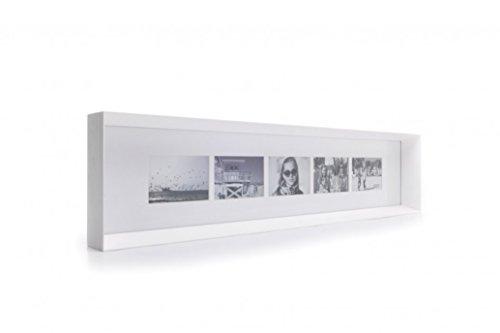 XL Boom Prado Photo Frame, White - Holds 5 Photos