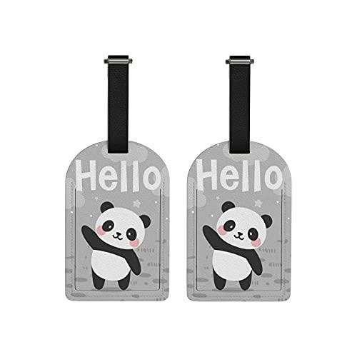 Etiqueta Para Equipaje Panda  marca Generic