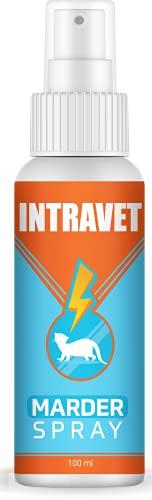 Saint Nutrition Intravet Marder Spray - Marderschreck für´s Auto oder Dachboden - Haus, DIE Marderabwehr & Marderschutz auf natürliche Weise