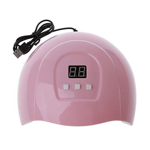 QIANGU UV-Trockner, 54W UV-Harztrockner UV-Harz Schnelle UV-Härtungslampe USB-Aufladung Jewerly Making Tools