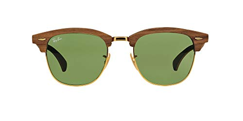 Ray-Ban RB 3016m Gafas de sol, Walnut Rubber Green, 51 para Hombre