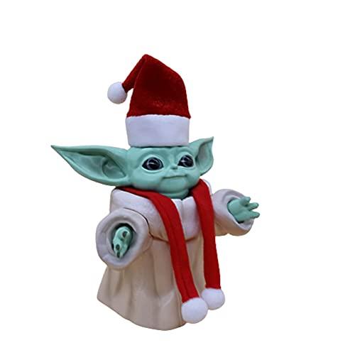 Star Wars Bebé Yoda Figuras de Anime 13cm Jugetes para Niños Regalos de Decoración Navideña-Yoda A