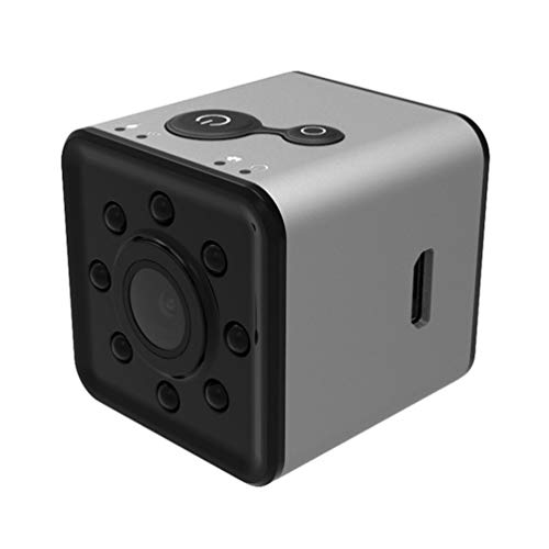 Queenaal SQ13 Full HD Cámara Sport Action Record CAM Holder 1080P + Cámara WiFi (Gris)