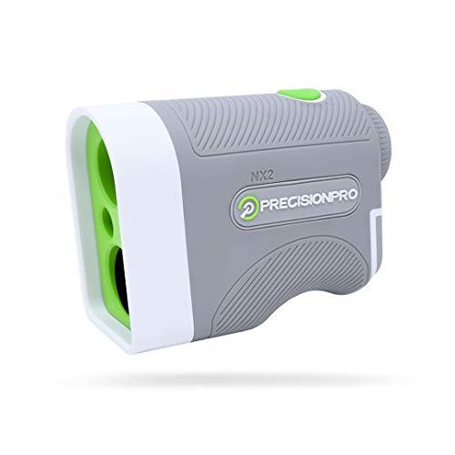 Precision Pro Golf, NX2 Golf Rangefinder, Laser Range Finder with 400 Yard Range, 6X Magnification, Flag Lock