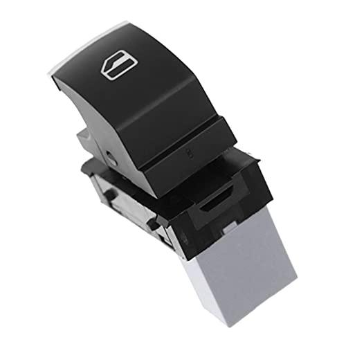 linger Interruptor de la ventana eléctrica del coche eléctrico del coche apta para el golf MK5 MK6 TOURAN DE TIGUAN JETTA PASSAT 2006-2013 5K0959855 5ND959855 (Color : Black)