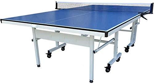 ytrew Mini Tischtennisplatte, Rollbar Tischtennisplatte für draußen, Indoor-Tisch...