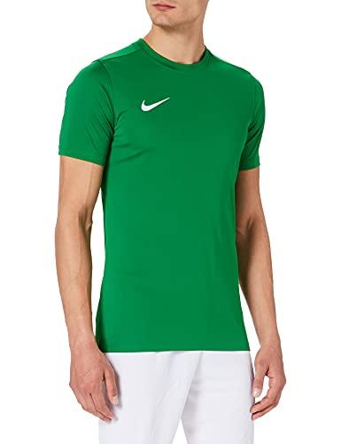 NIKE M Nk Dry Park VII JSY SS Camiseta de Manga Corta, Hombre, Verde (Pine Green/White), S