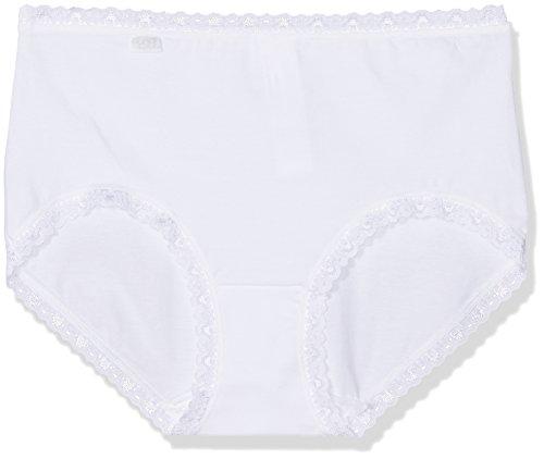 Sloggi Damen Slip, 3er Pack 24/7 Cotlac MD3P Weiß (White 03), 50
