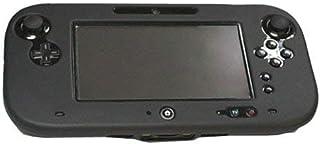 OSTENT Capa de gel de proteção total de silicone macio compatível com Nintendo Wii U Gamepad cor preta