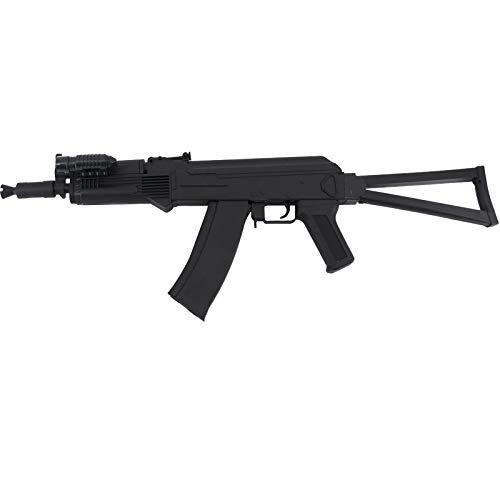 Amont Escopeta CYMA Tipo AK47 Calibre 6mm - Negra - Culata abatible - Energía 0.5 Julios - Velocidad de Disparo 91m/s - 300 FPS. Ref:P47A