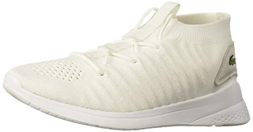 Lacoste LT FIT Sneaker, White/White, 6 Medium US
