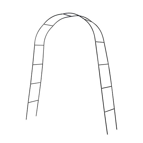 Arco de jardín de metal, Pérgola de metal de jardín, flores Arbor Planta de escalada Hierro Arte Arches Marco, Arco para la decoración del partido del césped de la boda del jardín, fácil de montar