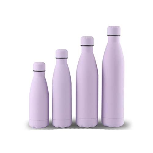 350ml 500ml 750ml 1000ml Bottiglie d'acqua Bottiglie in acciaio inox con isolamento sottovuoto Boccetta per proteine Sport Shaker Drinkware sport bottle-0.35L,7