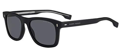 Hugo Boss Boss 0925/S IR 807 52 Gafas de sol, Negro (Black/Grey Grey), Hombre