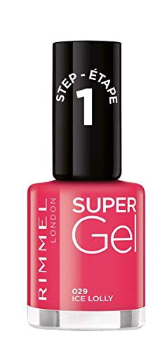 Rimmel Super Gel nagellak (kleur 029 Ice Lolly) - 12 ml