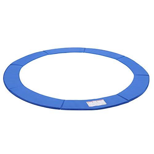 Songmics Randafdekking voor trampoline, 30 cm breed, diameter 244 cm, 305 cm, 366 cm, 100% uv-bestendig, scheurvast, veerafdekking, randbescherming
