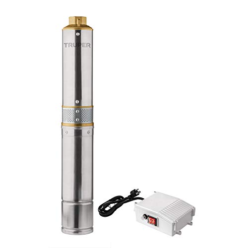Truper BOS-1/2LM2, Bomba sumergible tipo bala para agua limpia 1/2 HP