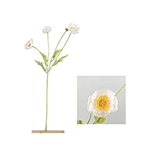 Artificial Poppy Flower Decoration, Silk Artificial Poppy Flower Wedding Holiday Bridal Bouquet Home Party Decoration